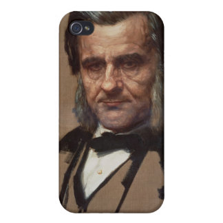 Portrait of Thomas Henry Huxley iPhone 4/4S Covers