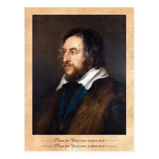 Portrait of Thomas Howard Peter Paul Rubens Postcard