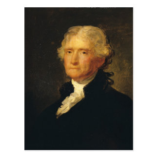 Portrait of Thomas Jefferson Postcard