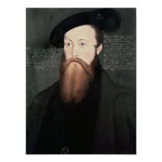 Portrait of Thomas Seymour  Baron Seymour Poster