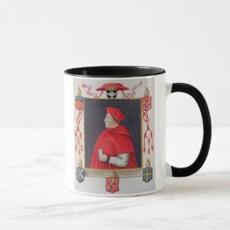 Portrait of Thomas Wolsey (c.1475-1530) Cardinal a Mug