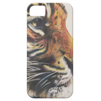Portrait of Tiger Side View iPhone 5 Covers