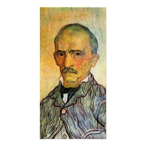 Portrait of Trabuc, Attendant - Vincent van Gogh Photo Greeting Card