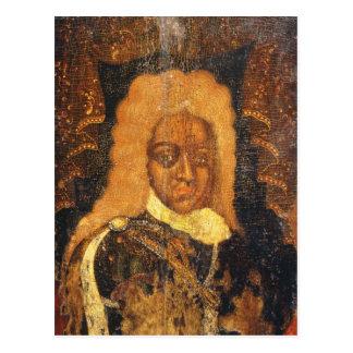 Portrait of Tsar Alexei I Postcard