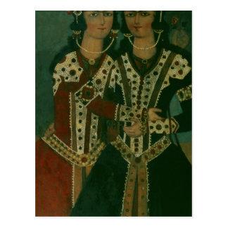 Portrait of Twins Postcard