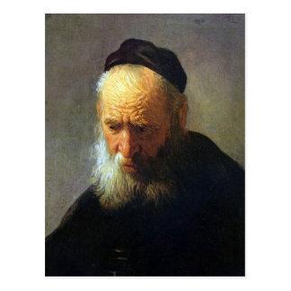 Portrait of Vaters Postcard