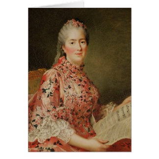 Portrait of Victoire of France Card