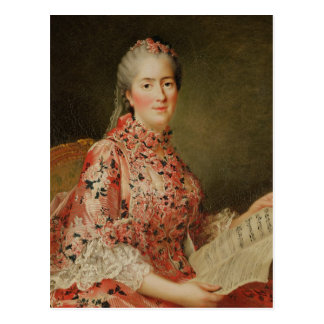 Portrait of Victoire of France Postcard
