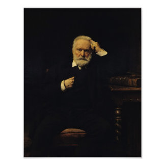 Portrait of Victor Hugo  1879 Poster
