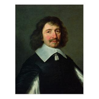 Portrait of Vincent Voiture  c.1643-44 Postcard