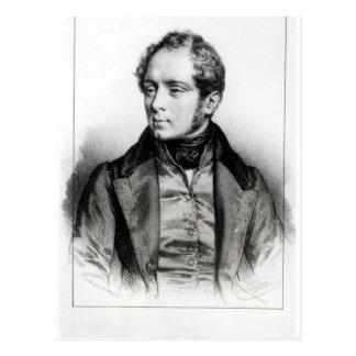 Portrait of Vincenzo Bellini Postcard