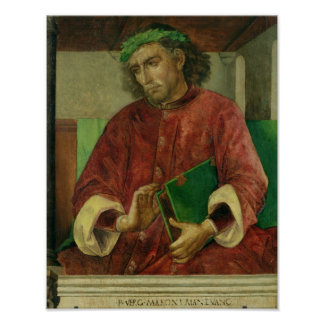 Portrait of Virgil , c.1475 Poster