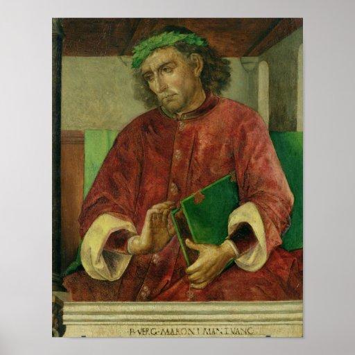 Portrait of Virgil , c.1475 Poster