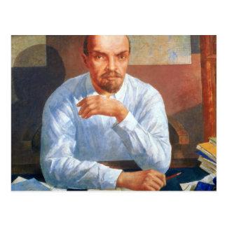 Portrait of Vladimir Ilyich Lenin , 1934 Postcard