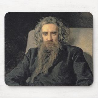 Portrait of Vladimir Sergeyevich Solovyov , 1895 Mouse Pad