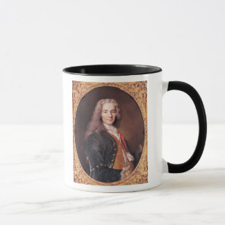 Portrait of Voltaire  aged 23, 1728 Mug