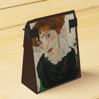 Portrait of Wally by Egon Schiele Favor Box