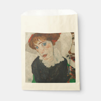 Portrait of Wally by Egon Schiele Favour Bag