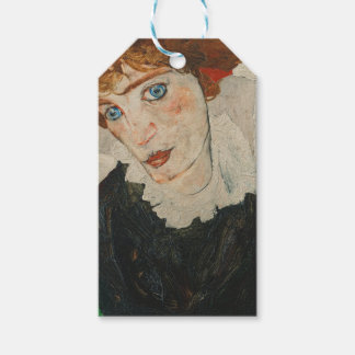 Portrait of Wally by Egon Schiele Gift Tags
