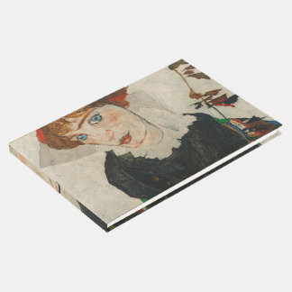 Portrait of Wally by Egon Schiele Guest Book