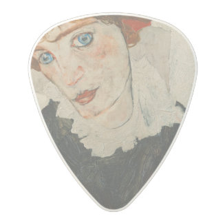 Portrait of Wally by Egon Schiele Polycarbonate Guitar Pick
