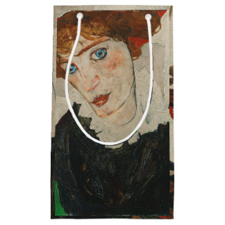 Portrait of Wally by Egon Schiele Small Gift Bag