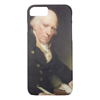 Portrait of Warren Hastings (1732-1818) at his Des iPhone 7 Case