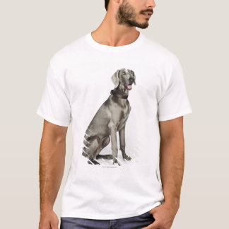 Portrait of Weimaraner dog T-Shirt