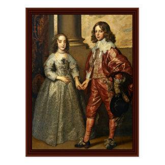 Portrait Of William Of Orange As A Prince Postcard