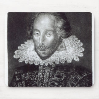 Portrait of William Shakespeare Mouse Pad