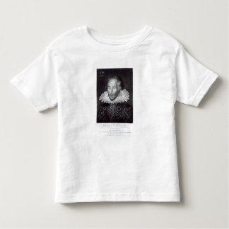 Portrait of William Shakespeare Toddler T-shirt