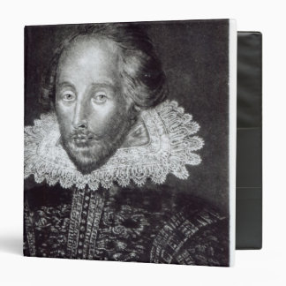 Portrait of William Shakespeare Vinyl Binders