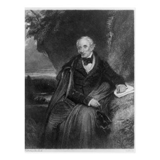 Portrait of William Wordsworth Postcard