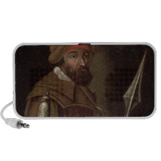 Portrait of Yermak Timofeyevich , 1700-50 iPhone Speaker