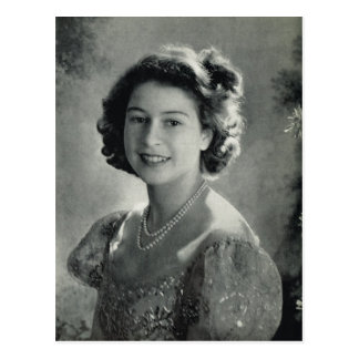 Portrait of young Princess Elizabeth Postcard