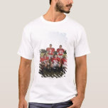 Portrait of youth football team on field T-Shirt