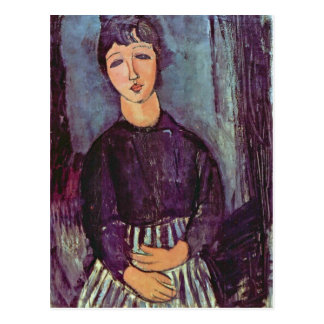 Portrait of Zofe by Amedeo Modigliani Postcard