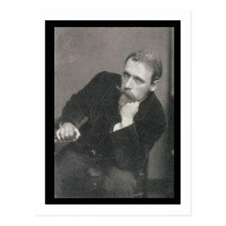 Portrait photograph of Walter Crane (1845-1915) by Postcard