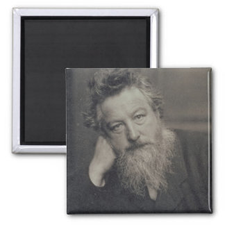 Portrait photograph of William Morris (1834-96) by Magnet
