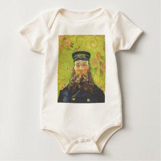 Portrait Postman Joseph Roulin - Vincent van Gogh Baby Bodysuit