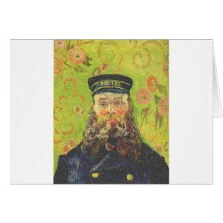 Portrait Postman Joseph Roulin - Vincent van Gogh Card