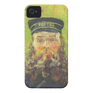 Portrait Postman Joseph Roulin - Vincent van Gogh iPhone 4 Covers