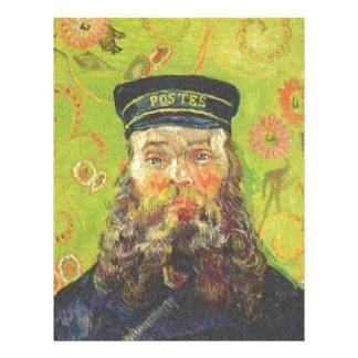 Portrait Postman Joseph Roulin - Vincent van Gogh Letterhead