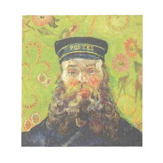 Portrait Postman Joseph Roulin - Vincent van Gogh Notepad