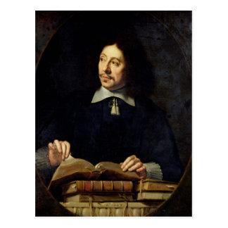 Portrait presumed to be Etienne Delafons, 1648 Postcard