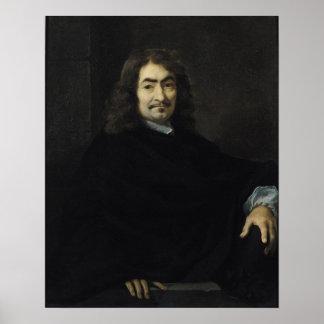 Portrait, presumed to be Rene Descartes Poster