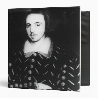 Portrait said to be Christopher Marlowe Binders