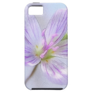 Portrait - Spring Beauty Flower Case For The iPhone 5