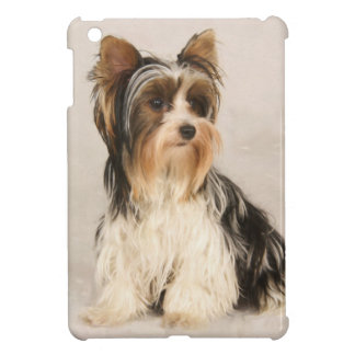Portrait Yorkie Miss Mia Photo painting iPad Mini Cases