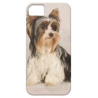 Portrait Yorkie Miss Mia Photo painting iPhone 5 Cover